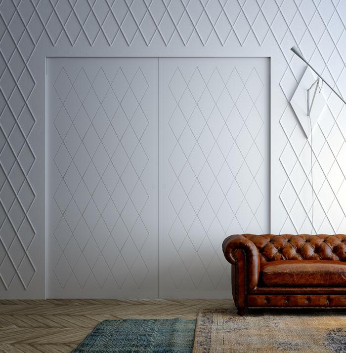 gain de place avec des portes coulissantes idée inspirante
