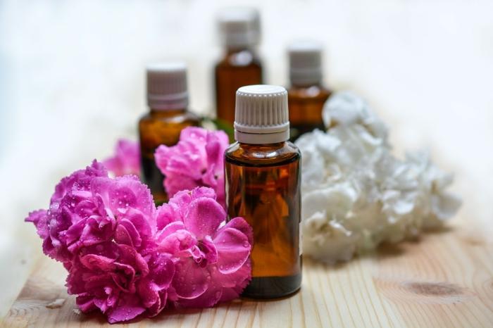 huile essentielle recette adoucissant maison