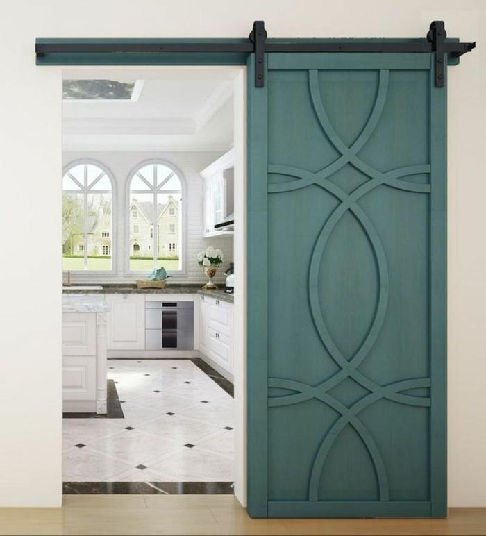 idée inspirante portes coulissantes