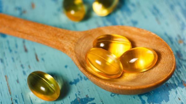 la vitamine D dans des capsules