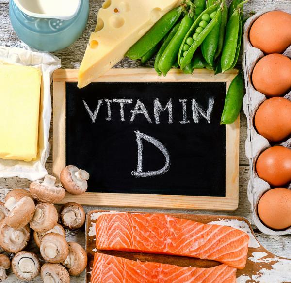 la vitamine D des champignons