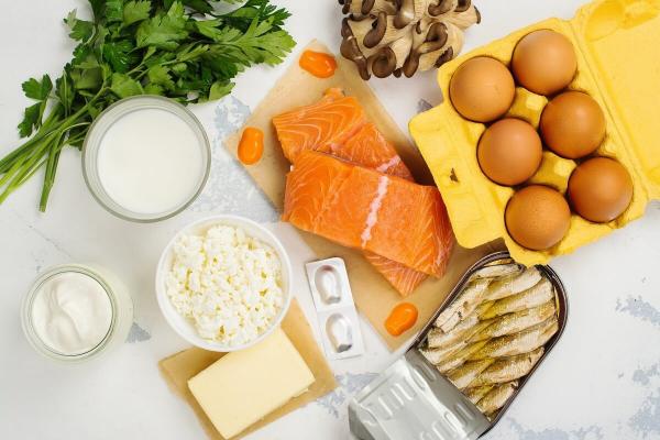 la vitamine D tous les aliments