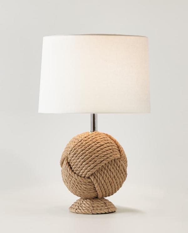 lampe chevet de la corde