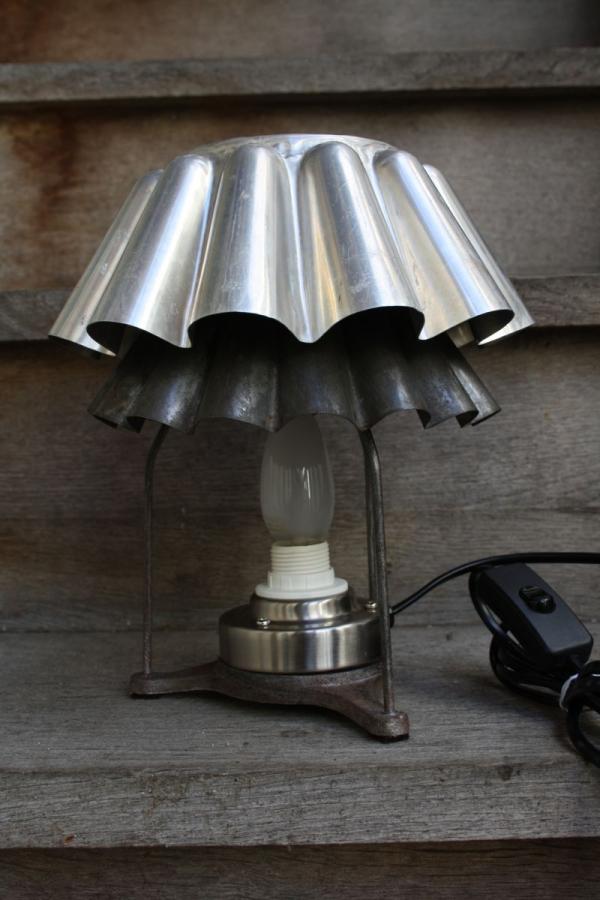 lampe chevet en style vintage