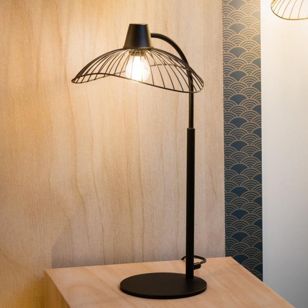 lampe chevet style industriel