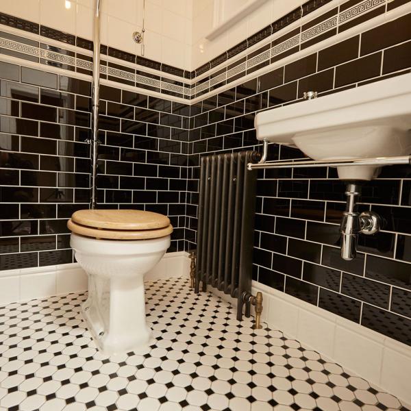 le carrelage salle de bain carreaux rectangulaires