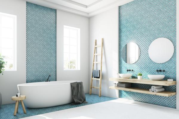 le carrelage salle de bain murs et sols