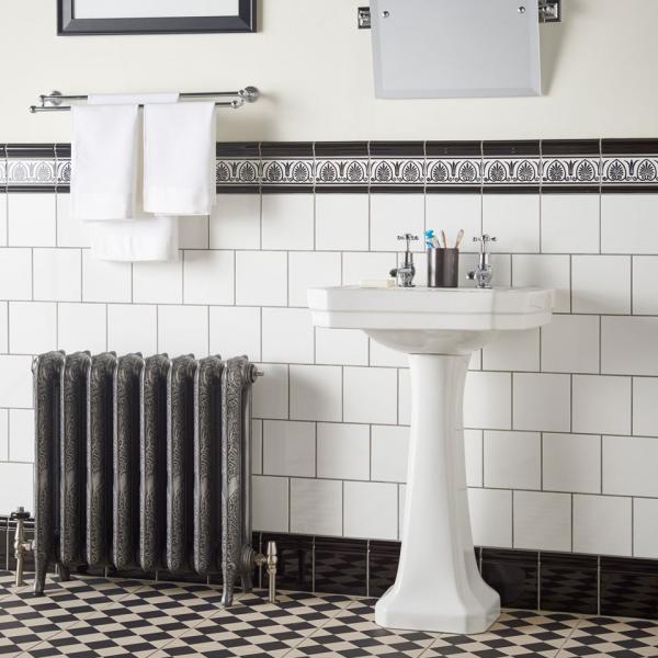 le carrelage salle de bain style classique
