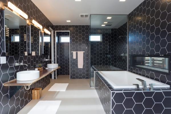 le carrelage salle de bain tous les murs