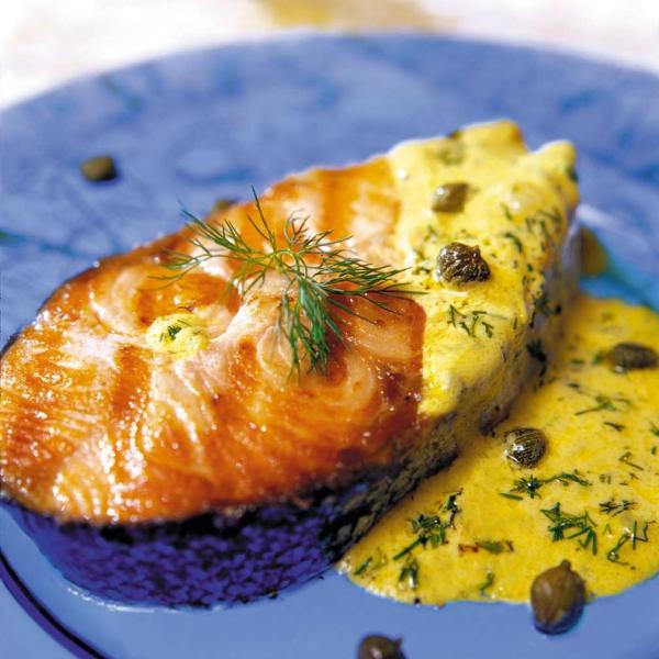 les bienfaits du jogging du saumon à la sauce