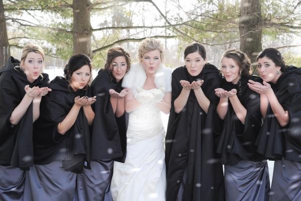 mariage parfait demoiselles d'honneur