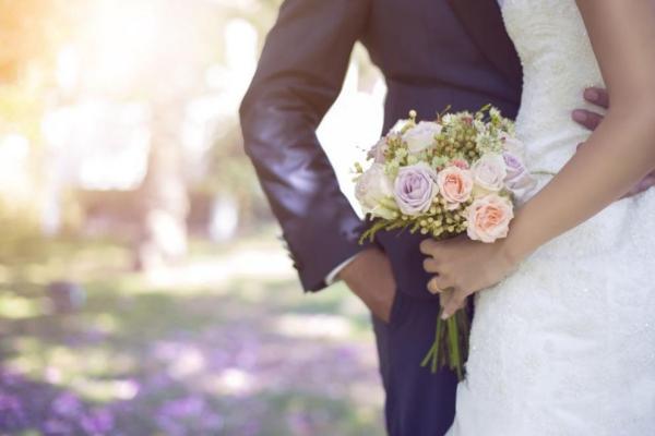 mariage parfait joli bouquet