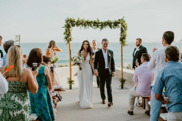 mariage parfait la mer en dos