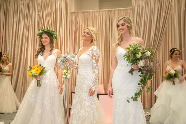 mariage parfait trois mariées