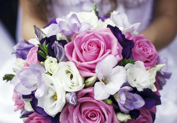 mariage parfait un bouquet multicolore