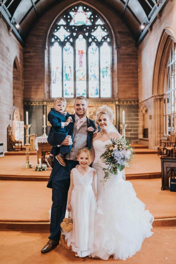 mariage parfait une église