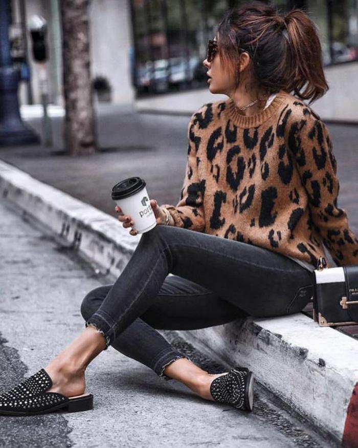 mode femme imprimé léopard tendances automne hiver 2019 2020