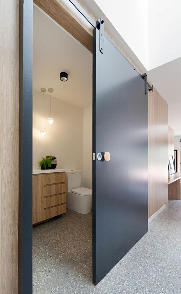 portes coulissantes en applique idée maison design