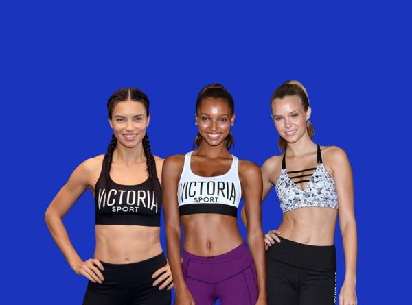 régime victoria secret exercices de sport des modèles