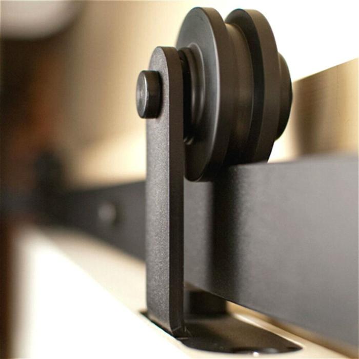 rail en métal portes coulissantes