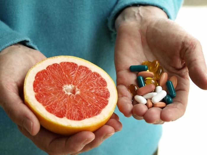 remplacer l'antibiotique avec un extrait de pépins de pamplemousse