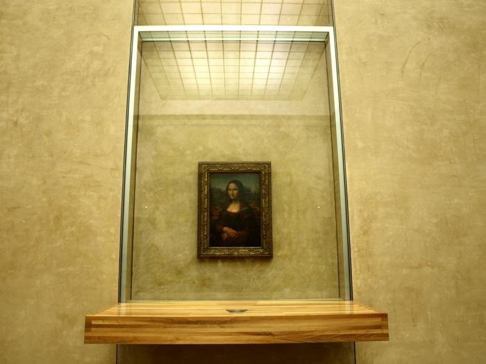 tableau mona lisa musée du louvre paris