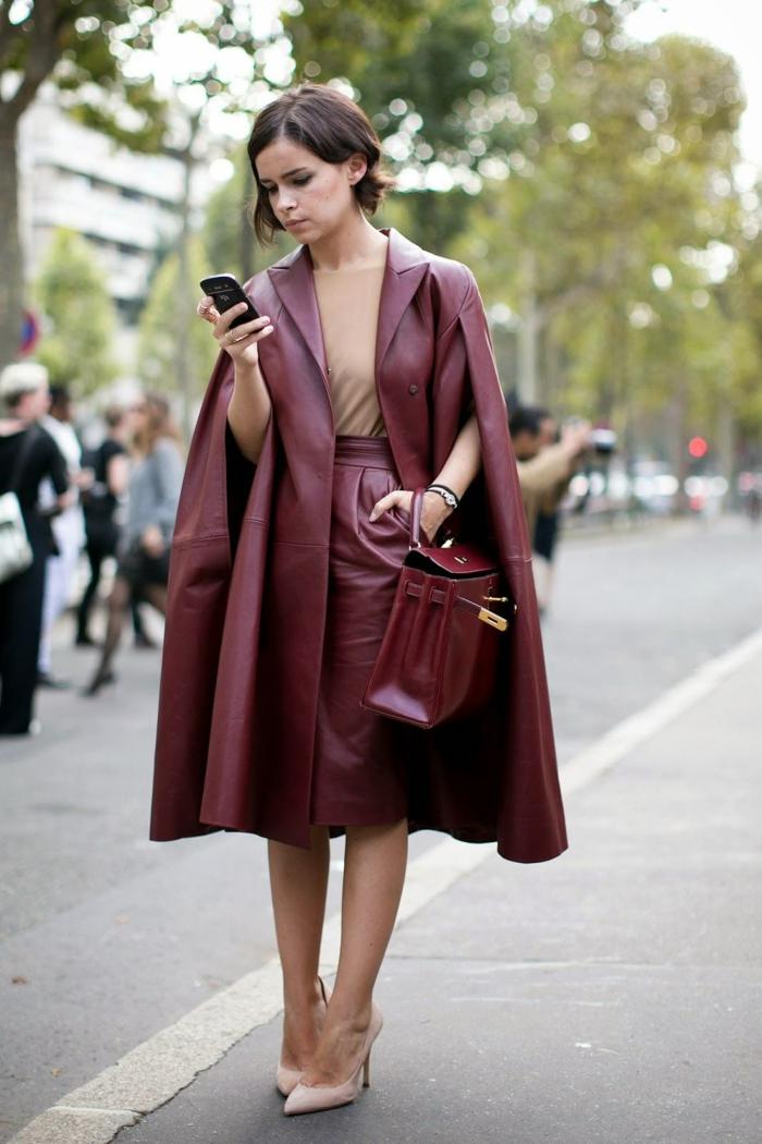 tendances automne hiver 2019 2020 cape mode femme