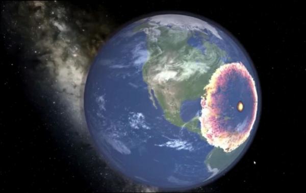 une explosion provoquerait une série de tsunamis géants