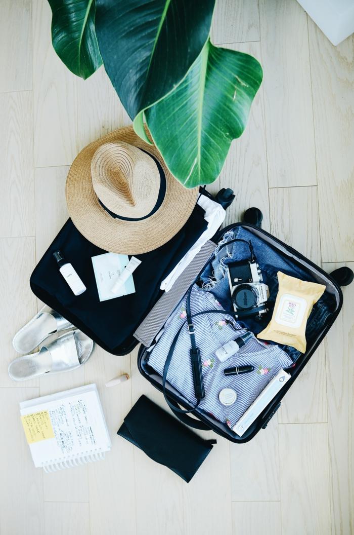valise vacances système d'alarme