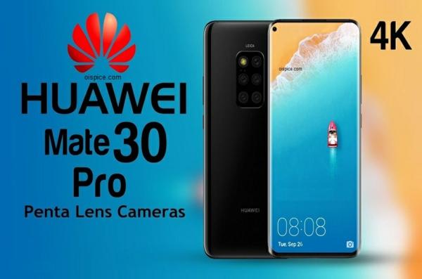 Huawei lance les séries Mate 30 et Mate 30 Pro le 19 septembre Huawei Mate 30 Pro caractéristiques