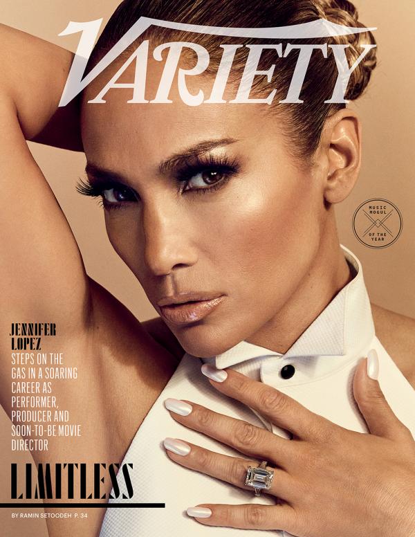 Jennifer Lopes le magazine Variety