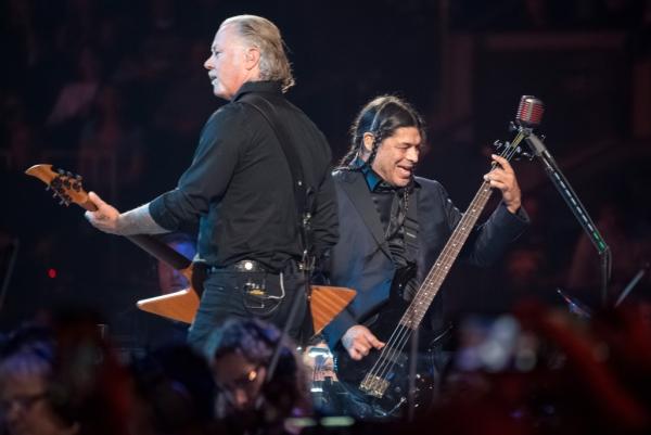 Metallica deux membres du groupe