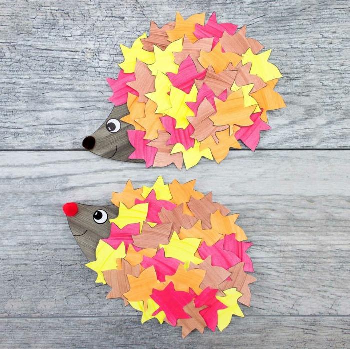 activités manuelles automne occuper les enfants idée