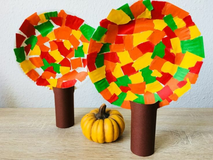 activités manuelles automne occuper les enfants