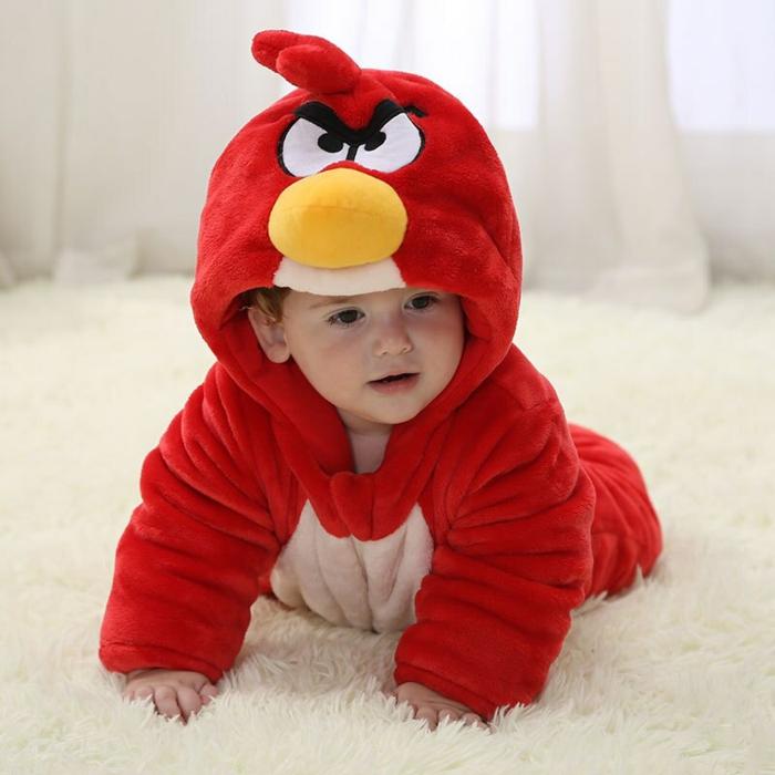 angry birds déguisement halloween bébé
