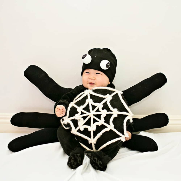 araignée costume déguisement halloween bébé