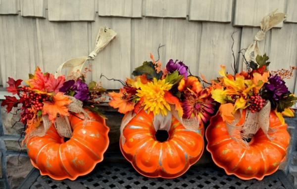 bricolage automne couronne citrouille moule à gâteau rond