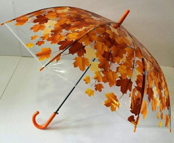 bricolage automne parapluie décoré de feuilles