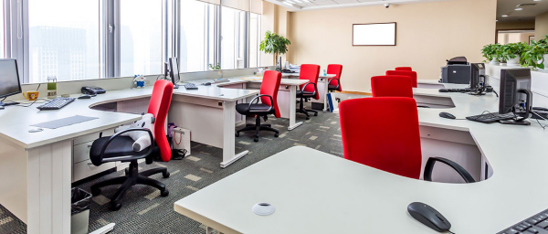 bureau contemporain design grand espace