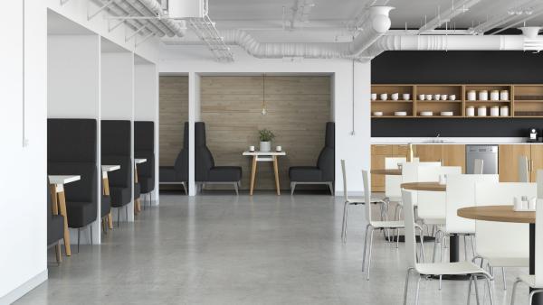 bureau contemporain design pour la pause