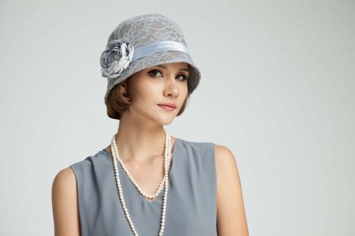 chapeau moderne déguisement années 20