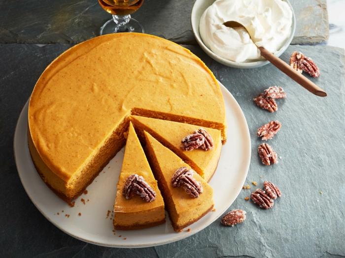 cheescake à la citrouille gâteau à la citrouille