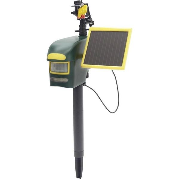 comment chasser les merles du jardin à batterie solaire