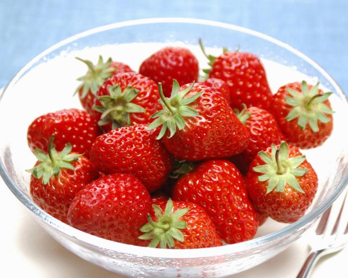 conservation des aliments fraises fraîches