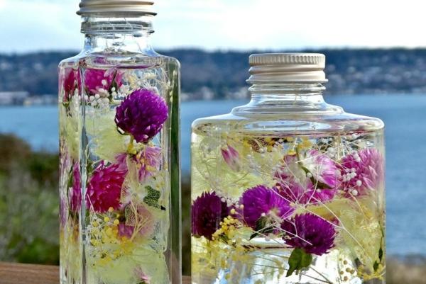 conserver un bouquet de mariage glycérine