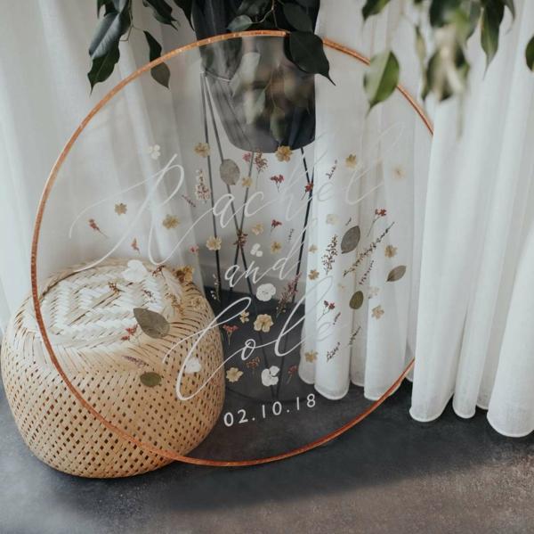 conserver un bouquet de mariage papier parchemin
