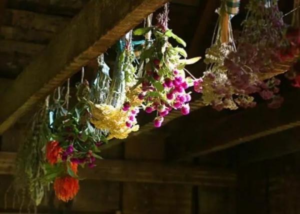 conserver un bouquet de mariage séchage à l'air