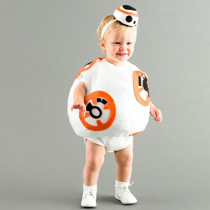 costume bb8 déguisement halloween bébé