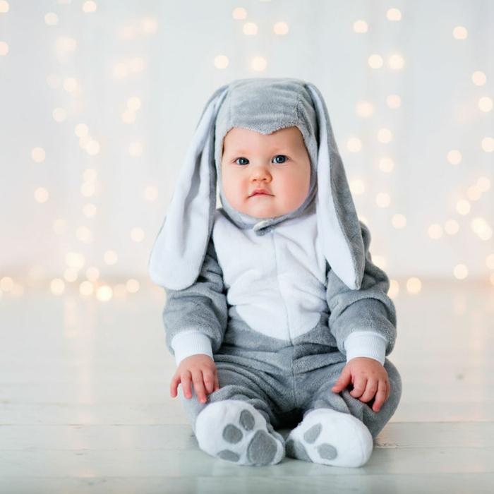 costume lapin idée déguisement halloween bébé