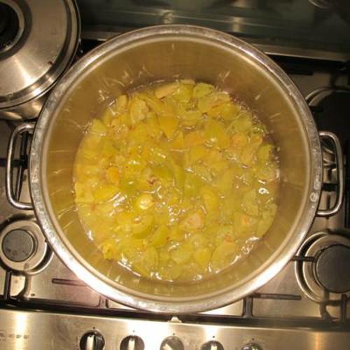 cuisson de morceaux de coing recette gelée de coing